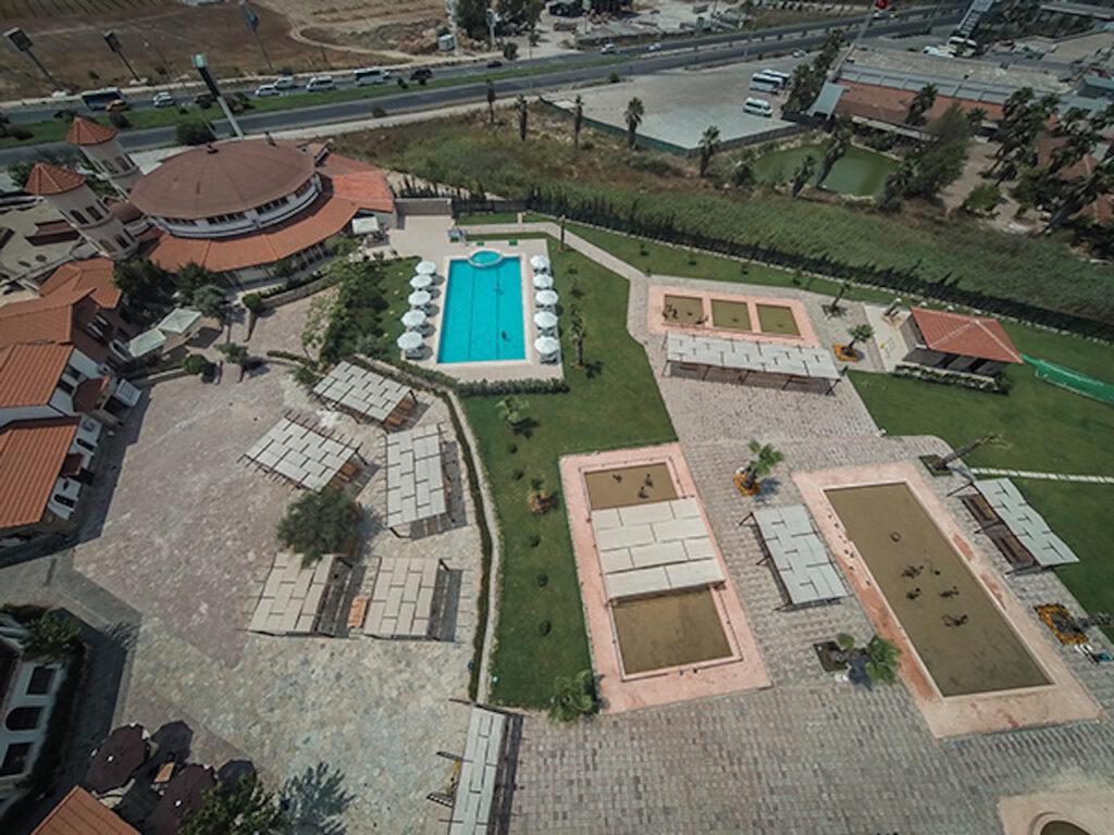Peloid Antalya Spa Center Havadan Çekim 4