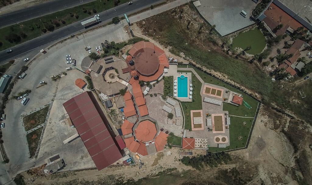 Peloid Antalya Spa Center Havadan Çekim 6